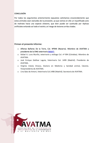 Informe veterinario tordos Elche3