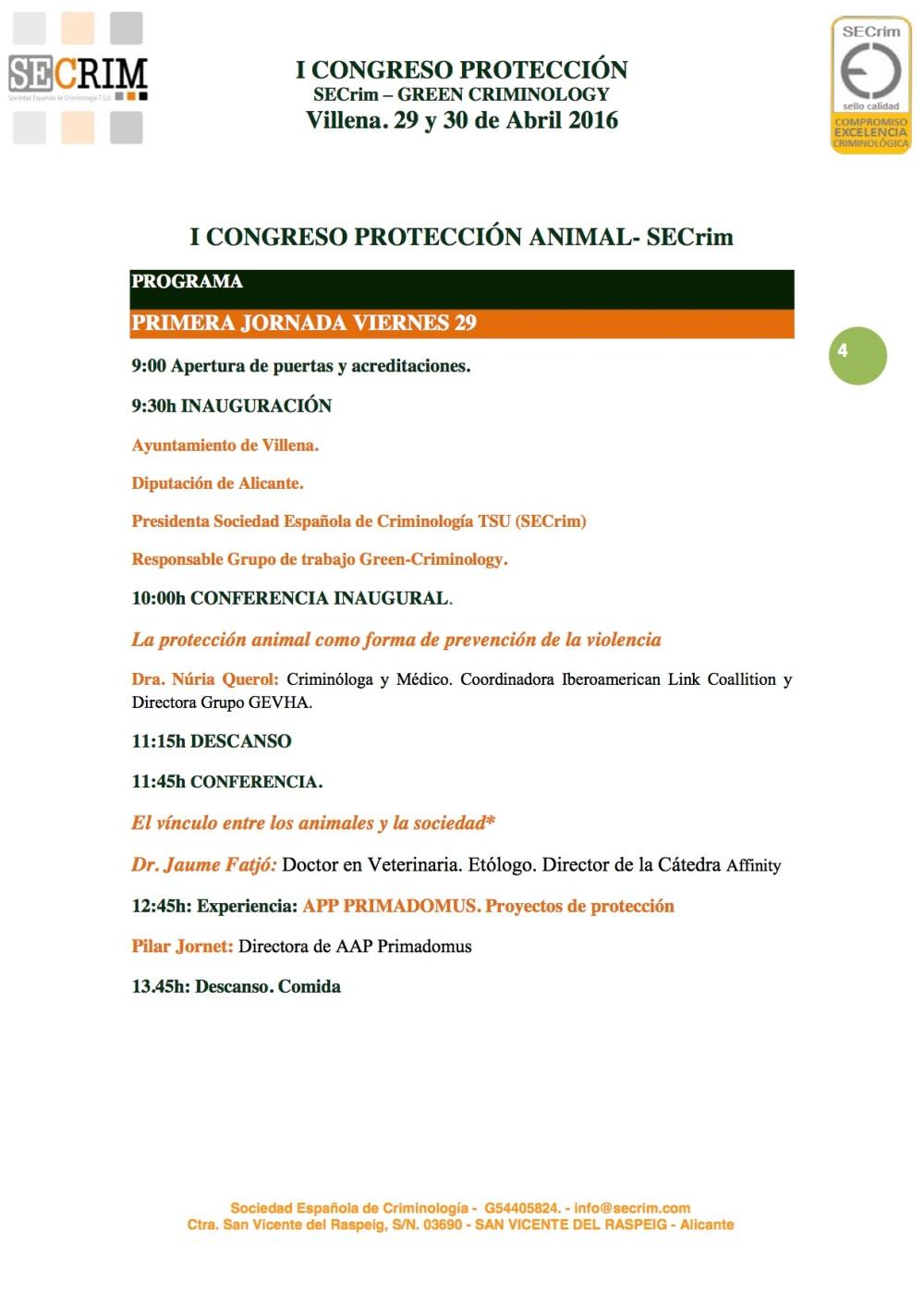 PROGRAMA-4CIRCULAR PROTECCIÓN ANIMAL