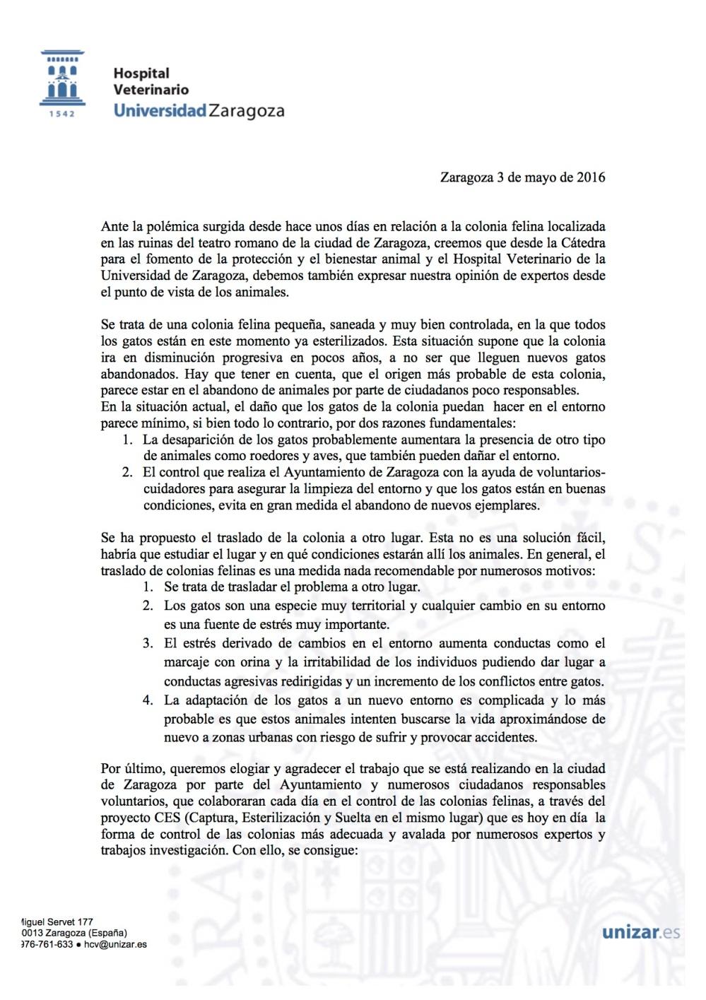 Nota de prensa Facultad Cátedra- traslado colonia teatro  (1)