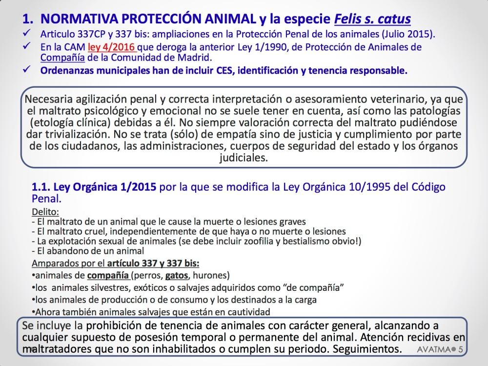 5CHARLA CES BADAJOZ_III congreso de derecho animal de Extremadura