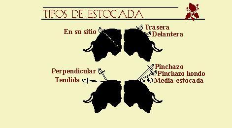 Tipos de Estocadas