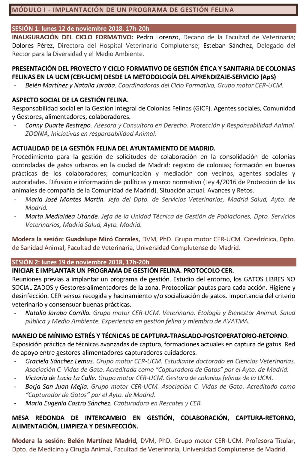 programa-ciclo-formativo-gestic3b3n-c3a9tica-y-sanitaria-de-colonias-felinas-cer-ucm-curso-2018-2019_pc3a1gina_2.png